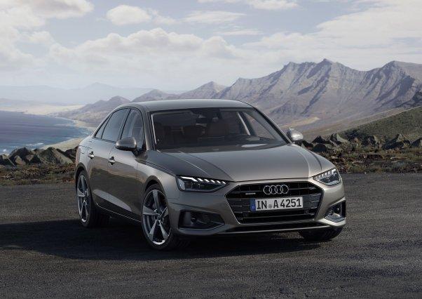 L'Audi A4 prend un coup de jeune