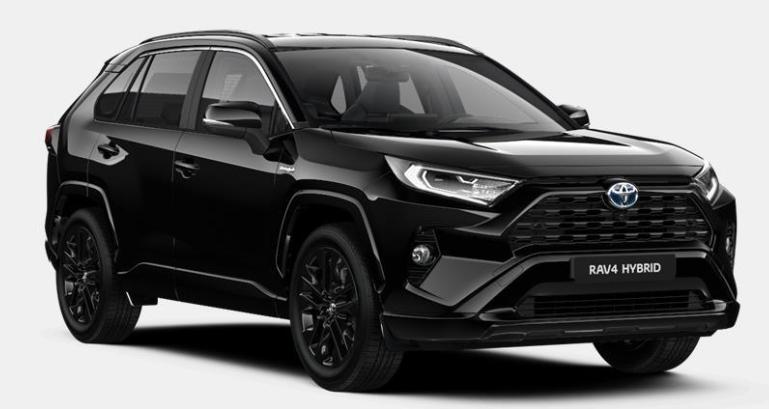 TOYOTA RAV 4 2WD BLACK EDITION 2.5L 218 CH HYBRID 705 €/MOIS