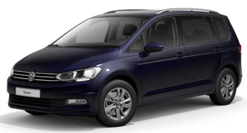 VW TOURAN 7 PL LOUNGE 1.5L TSI 150 CH 529 €/MOIS