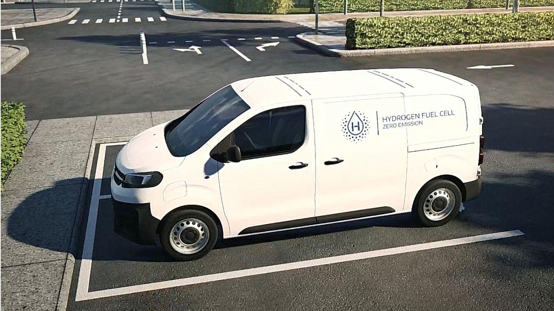 STELLANTIS présente ses 3 utilitaires hydrogène Citroën, Peugeot et Opel